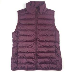 J Crew Channeled Puffer Vest Size S